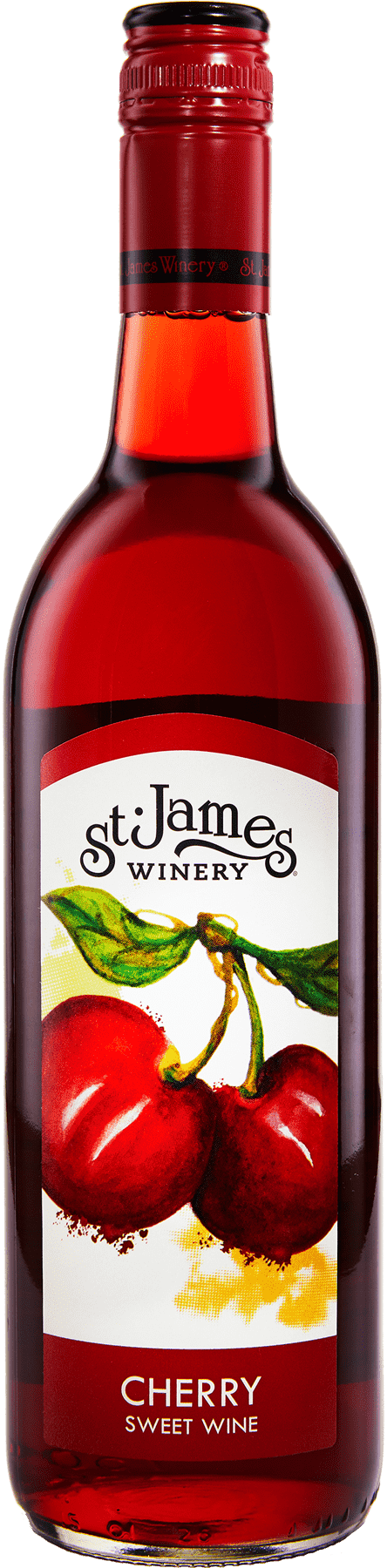 Cherry Wine - Fruit Wines - St. James Winery