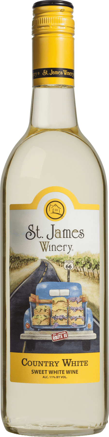 Country White Sweet Wine - St. James Winery Missouri