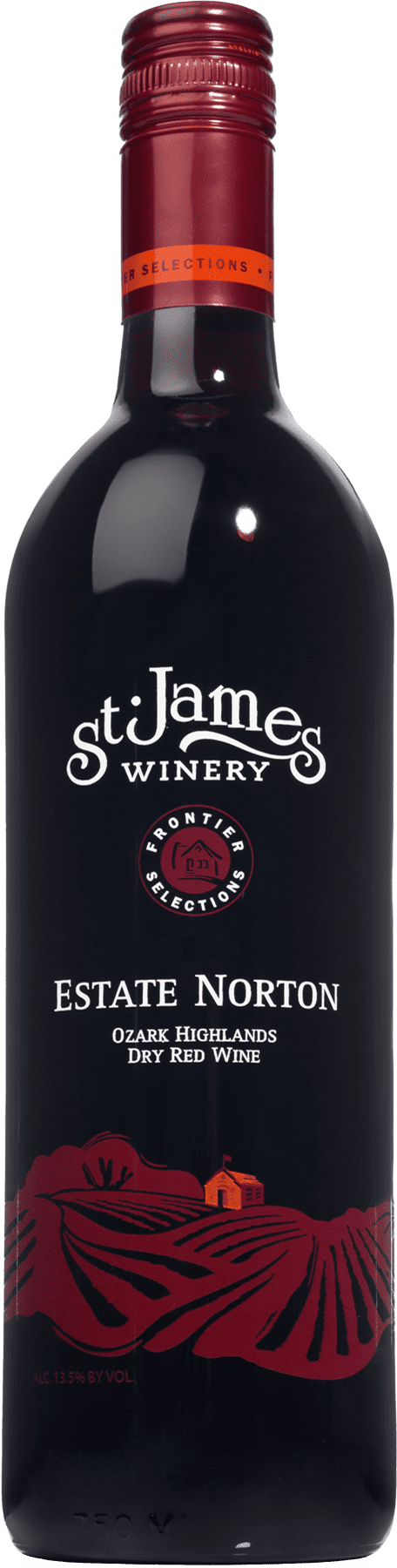 Estate Norton Ozark Highlands Dry Red Wine - St. James Winery Missouri