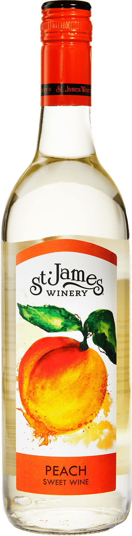 Peach Wine - Fruit Wines - St. James Winery