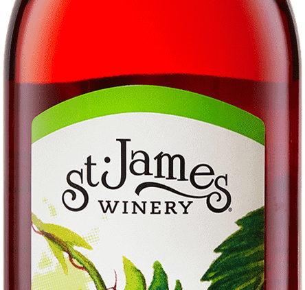 Strawberry Wine - Fruit Wines - St. James Winery