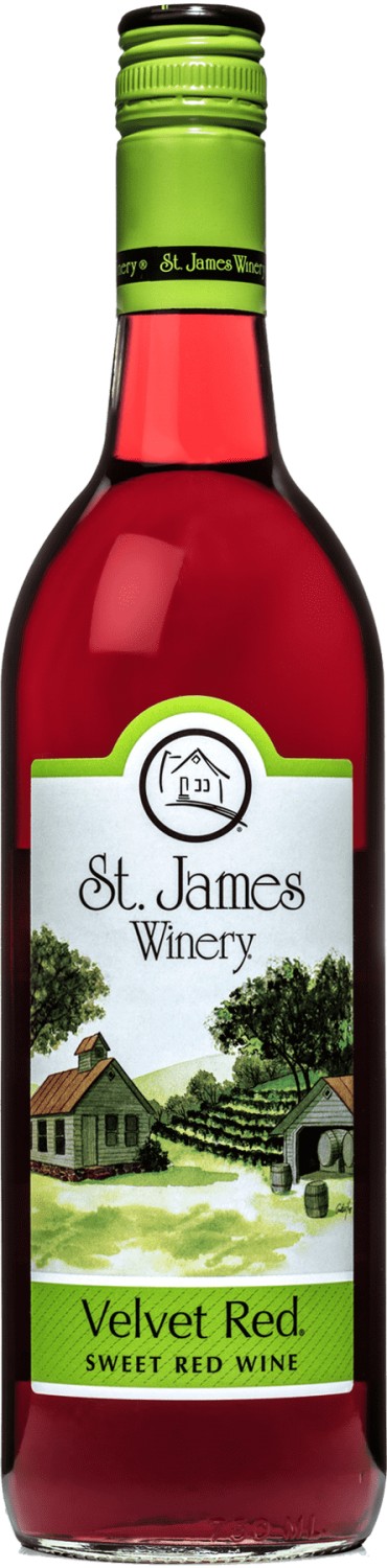 Velvet Red - Sweet Wine - St. James Winery Missouri