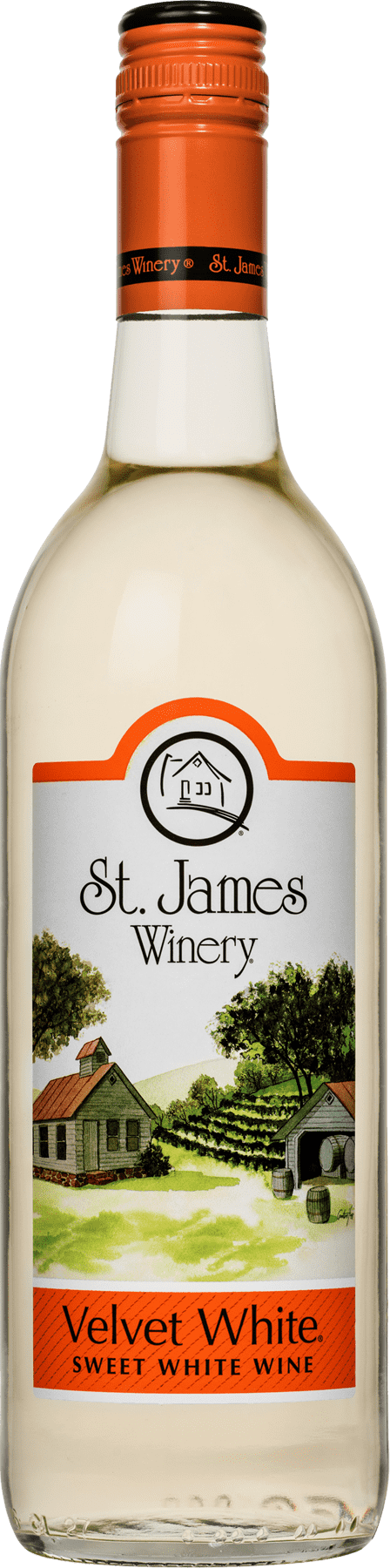Velvet White Sweet Wine - St. James Winery Missouri