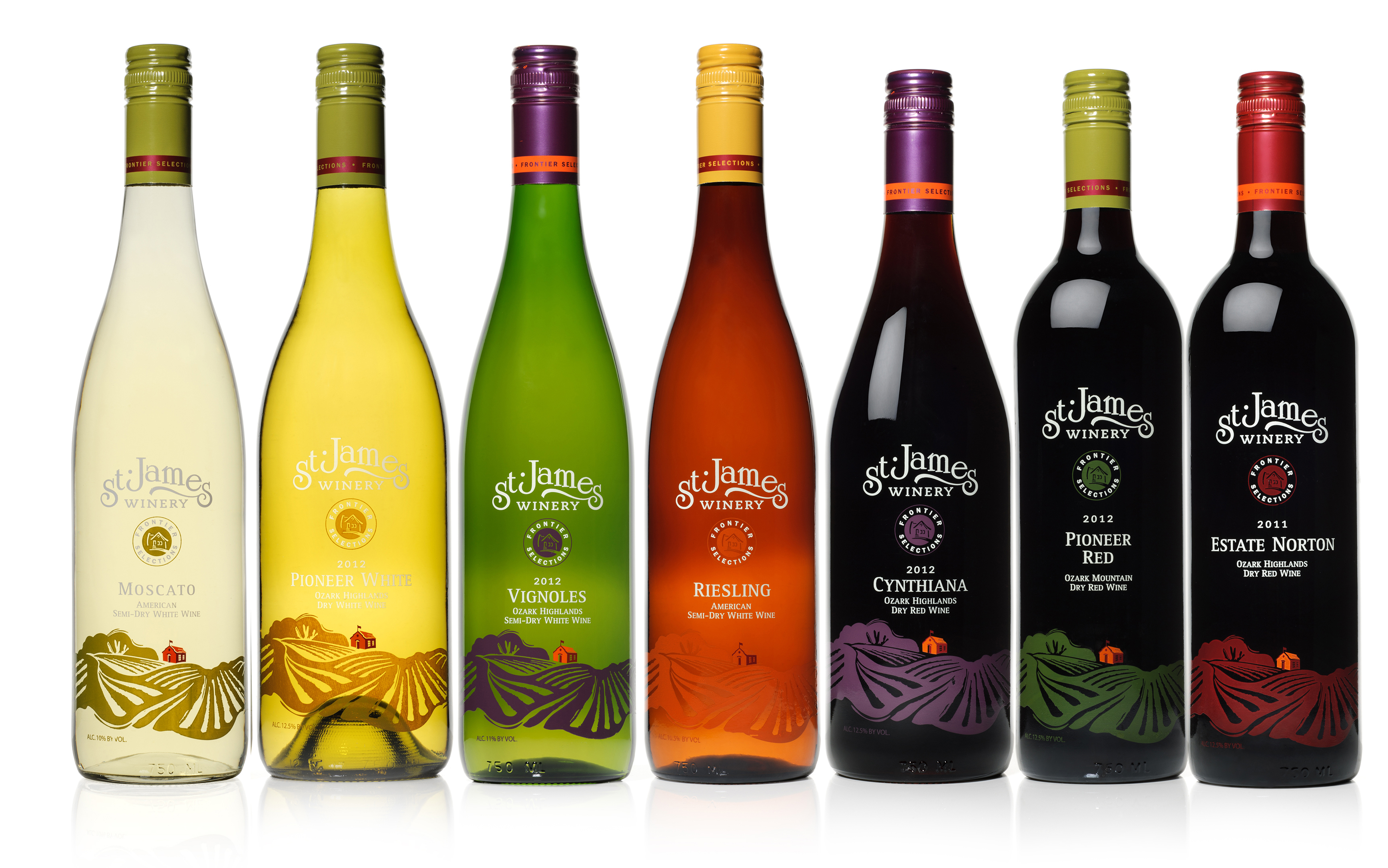 St. James Winery Frontier Selections