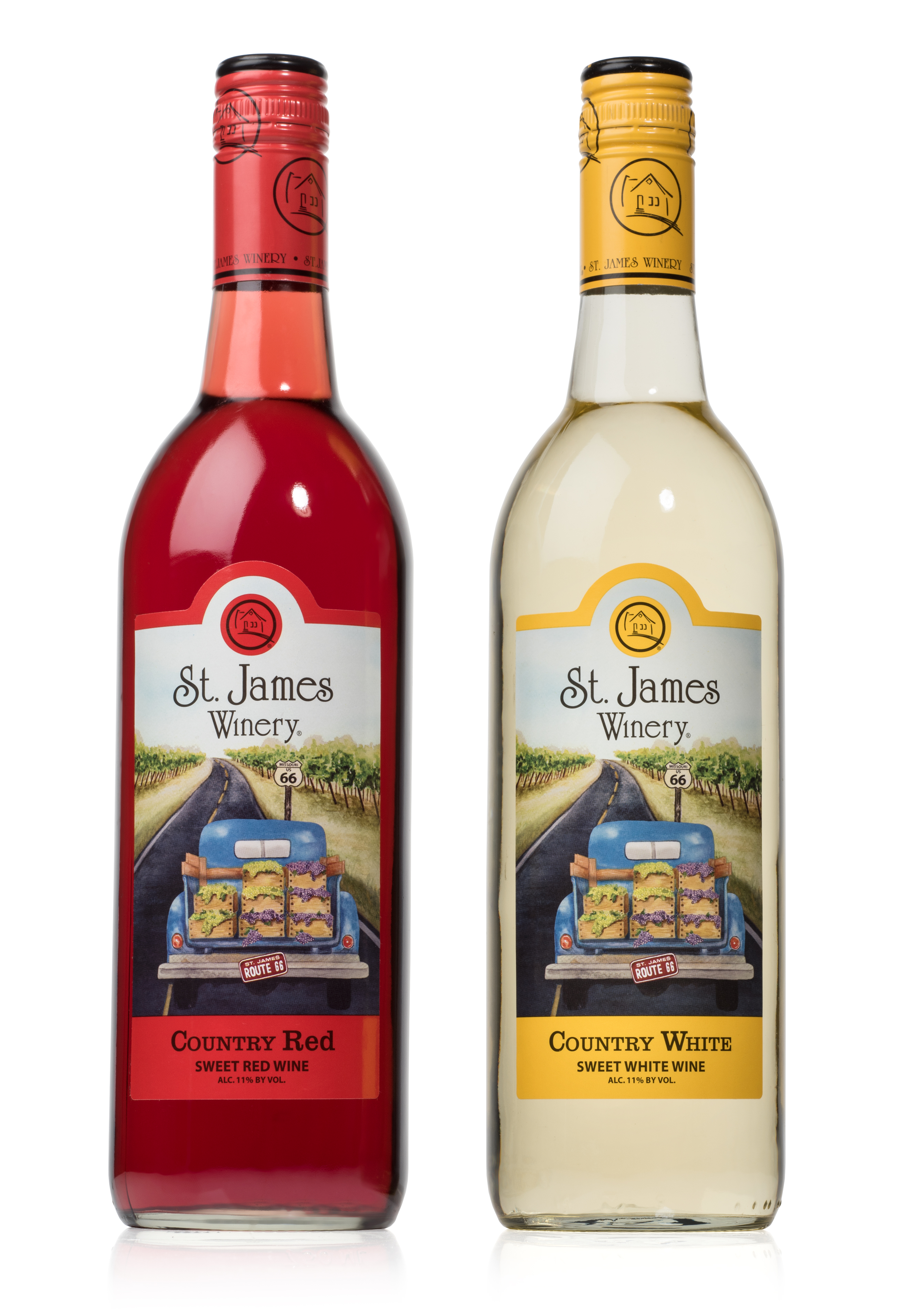New Look For Country Red Amp Country White St James Winery