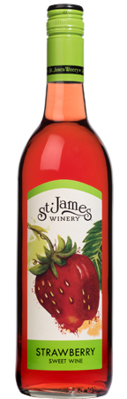 Missouri Strawberry Wine