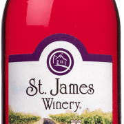 Concord Sweet Wine - St. James Winery Missouri