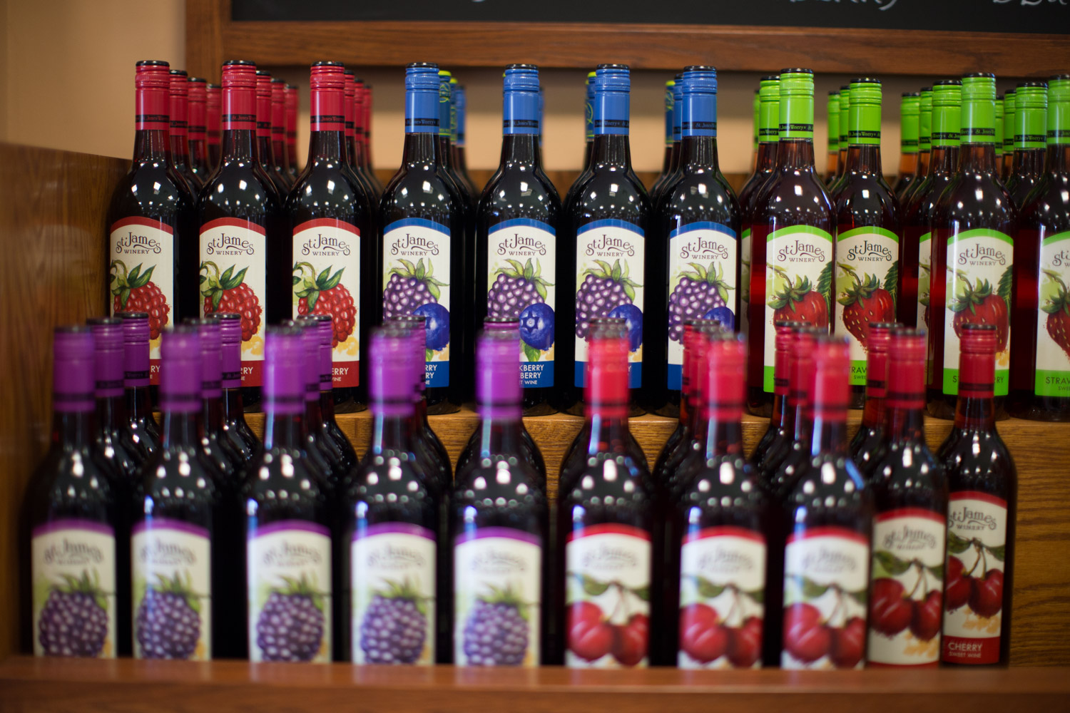 Where To Buy St James Winery Wine