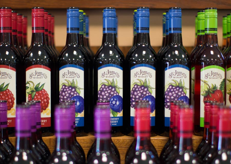 Fruit Wines by St. James Winery
