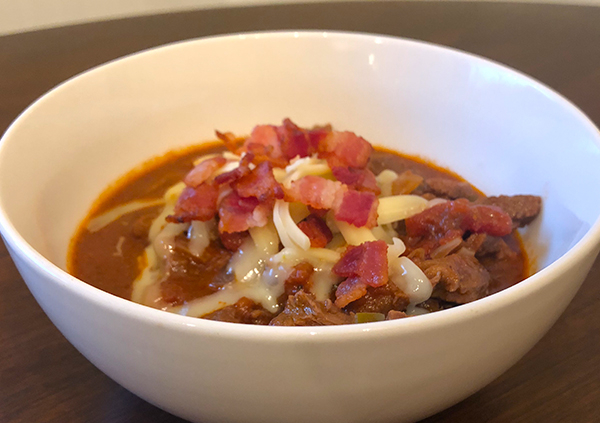 St. James Winery, dry red wine, red wine, venison, Red Wine Venison Chili,